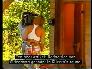Gardener Fucks 3 Girls In The Sauna