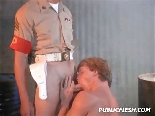 Gay Army Brat Fucked By The Military Police