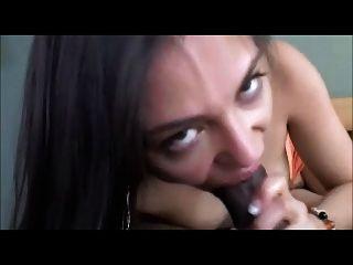 Hot Chic Sucking Bbc To Oral Cumshot