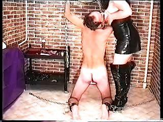 Mistress Tortures And Masturbates 2