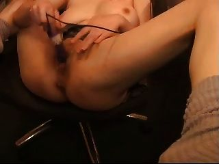 Horny Woman In Skirt Masturbate And Squirts 2