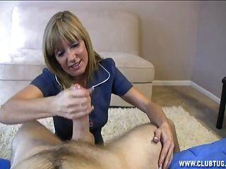 Blonde Milf Likes Huge Cocks
