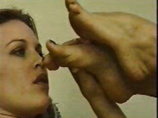 Lesbian Licking Feet (no Sound)