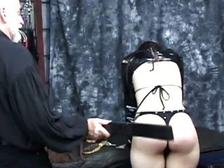 Short-haired Girl Gets Spanked - Part 1
