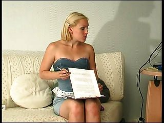 Russian Lesbian Ladyboss Seduce & Strap On Her Secretary