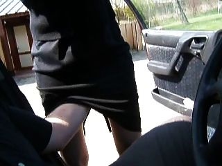 Fast Masturbation On Parking Lot Bvr