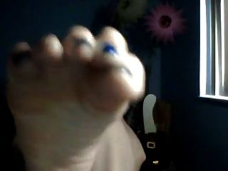 Sexy Blonde Close Up Soles