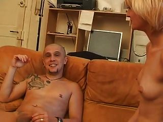 blonde anal french