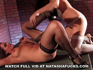 Natasha & Dani Daniels Naughty Fun