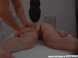 Czech Massage Young Tight Girl Gets Much More Than Massage
