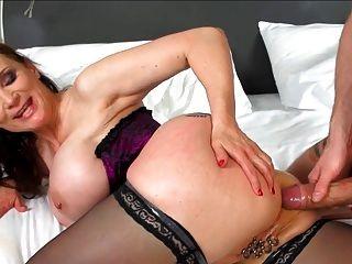 Hottest 58 Y.o I Ever Saw (anal!)
