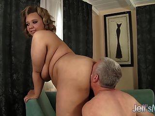Cock Hungry Bbw Sarah Wilson Hardcore Sex