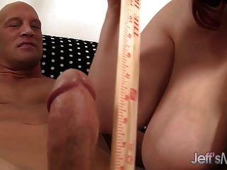 Bbw Eliza Allure Plays With A Cock Before Getting Fucked