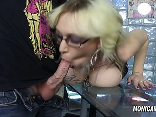 Monicamilf Is Fucking Overtime At Work