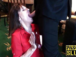 Divorced Mature Lady Pandora Enjoys Having Submissive Sex