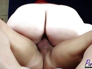 Redhead Bbw Eliza Allure Gets Fucked In My Hotel