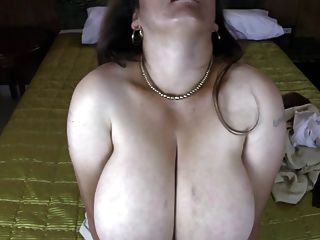 Mature Latin Mom With Natural Huge Boobs