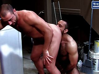 Big Hairy Muscle Daddy Adam Champ Fucks Bottom Donnie Dean