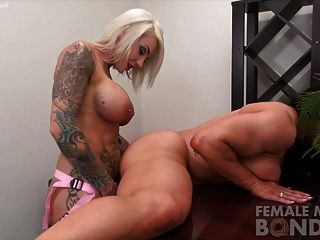 Dani Andrews Fucks Brandimae With A Strapon