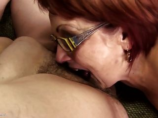 Classy Mature Mothers Seduce Young Cocky Boy