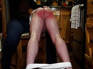 Fm-otk Hairbrush Spanking - Spanked Soundly