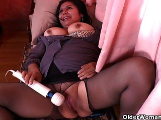 41yr tan n plump milf - 3 part 6