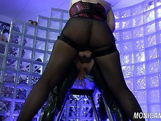 Monicamilf Femdom - Blue Balls And Some Hard Pegging