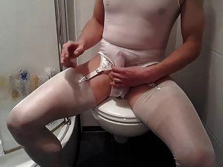 Hose Fetisch in Cumming Pantyhose: 52,404