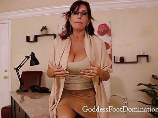 Foot Fetish Therapist Follow Up Visit - Pov Foot Fetish