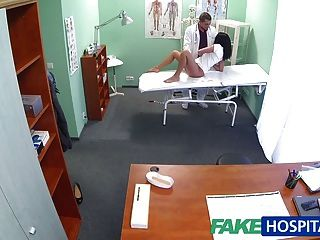Fakehospital Hot Black Haired Mom Cheats On Hubby