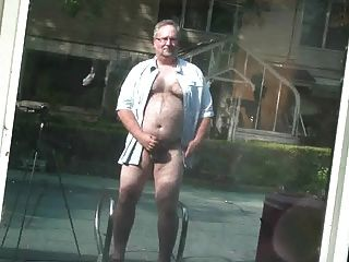 Str8 Chubby Dad Loves To Cums Outside (01)