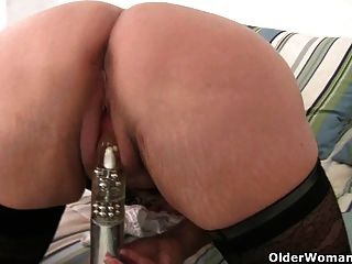 Pathetic guy films bbc smashing his wife until creampie 9