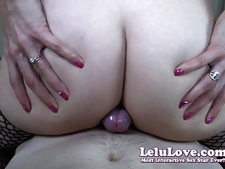 Lelu Love-cameltoe And Ass Cheeks Sliding Cumshot