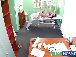 Fakehospital Doctors Cock Persuades Sexy Patient