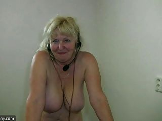 Old granny joi