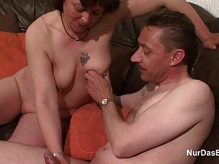 German Mother Get Fucked Hardcore After Seduce On Street