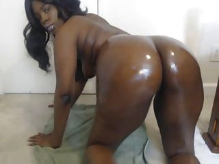 Chocolate Oiled Up Booty