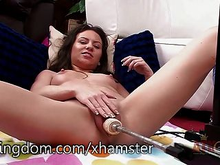 Kendra Khaleesi Gets Fucked By A Machine