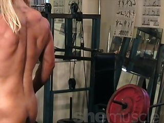 Melissa Dettwiller Naked In The Gym