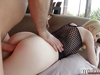 All Internal Blonde Alice Is Filled Up With Cum