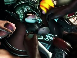 midna naked and horny