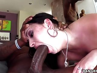 Interracial Dp With Angell Summers