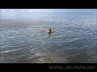 Skinny Dipping At A Park- Andrea Sky