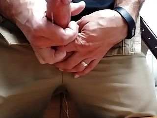 Str8 Daddy Horny At Work