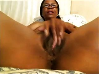 Lactating milf squirtting milk on a glass table 4