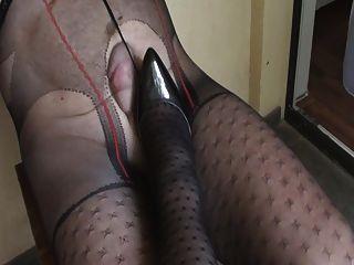 Patterned Pantyhose 2