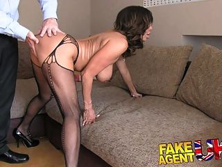 Fakeagentuk Hot Chilean Milf Gets Hardcore Anal Action