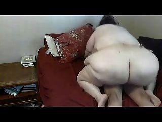 Mature Bbw  Big Boobs Having Fun