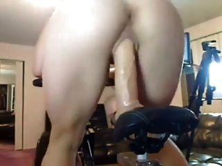 Big Dildo Bike Ride Workout