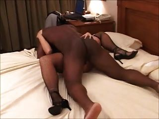 Bbc Breeding Wife So Hard In Missionary